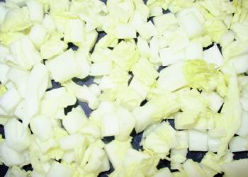 10mm角切り(白菜)